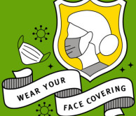 Wear your face covering poster