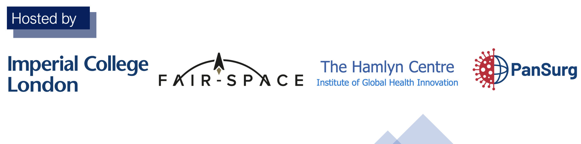 Hosted by Imperial College London, FAIR-SPACE, the Hamlyn Centre & PanSurg