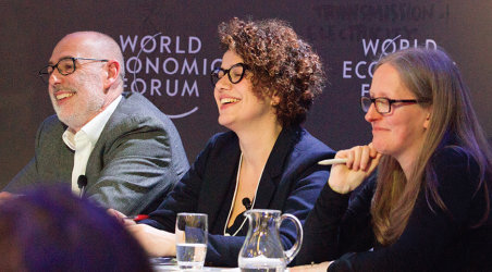 Imperial academics at the World Economic Forum is Davos Klosters, January 2018