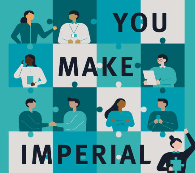 Jigsaw image reads 'You make Imperial'