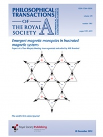 Philosophical transactions of the Royal Society