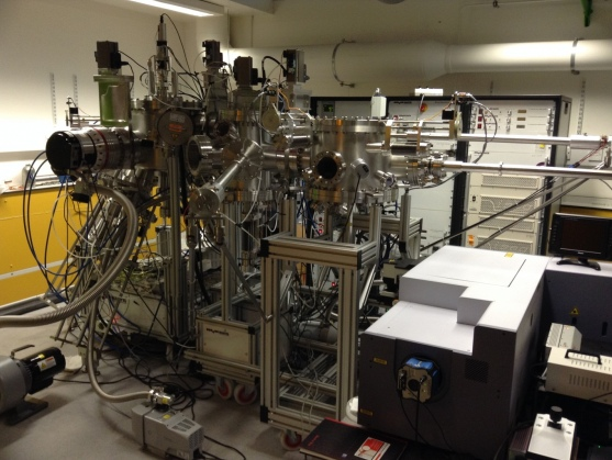 The Nitrides Electron Beam Epitaxy system.