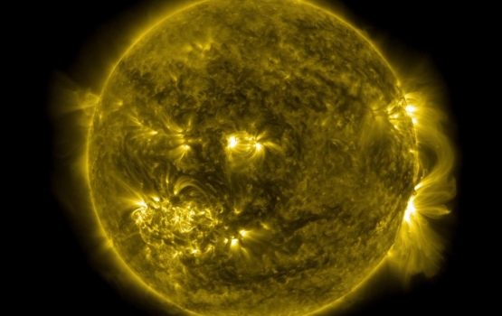 Radiation from the Sun is one of the major challenges for any mission