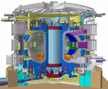 Schematic of the ITER reactor