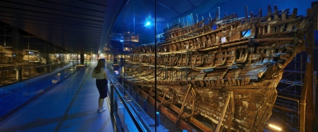 Mary Rose Museum, Interior