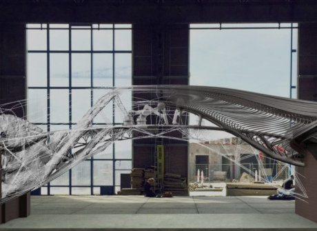 The world's first 3D printed steel bridge will be a 'living