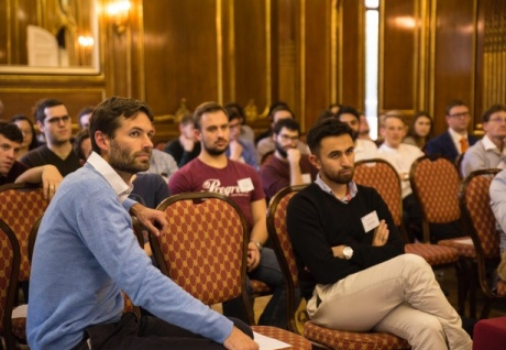 Attendees included students from the Quantum skills hub at Imperial, along with representatives from industry and Imperial academics working in quantum research