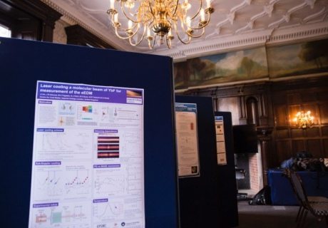 A wide range of Imperial quantum research was on display at the event
