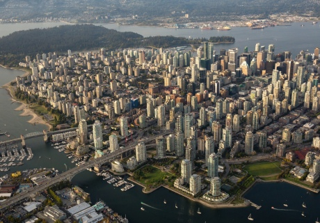 The team will look at several cities, including Vancouver (pictured)