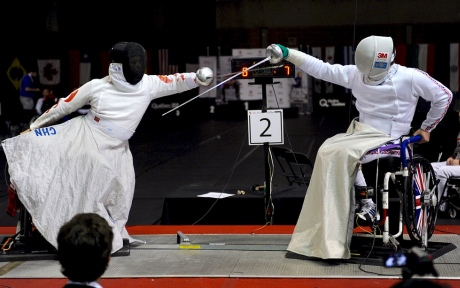 Wheelchair Fencing Innovation Breaks Down Barriers To The