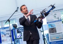 Imperial robots helping humans in the home, clinic and over land, sea and air