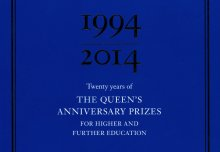 SCI, part of the 20th anniversary celebrations of Queen's Anniversary Prizes