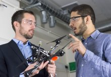 Robot drones could 'print' buildings and disaster shelters, says researcher
