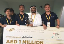 Buildrone team wins 'world cup of drones'