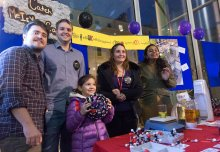 In pictures: Crowds bond with Imperial researchers over chemistry solutions
