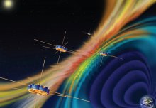 Spacecraft fly through explosive magnetic phenomenon to understand space weather
