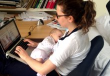 Award-winning project supports medical student mothers and fathers