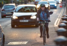 Car drivers are four kilograms heavier than cyclists, new study reveals