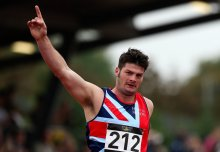 Imperial's Dave Henson is going for gold at this year's Paralympic Games