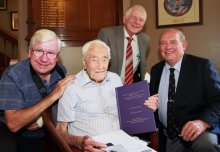 Oldest working scientist honoured 75 years after completing Imperial PhD