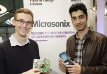 Miniature ultrasound device wins Imperial's Venture Catalyst Challenge 2017