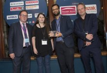 Fire researchers win Collaborate to Innovate award with Arup