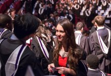 """Share our world of discovery"", Imperial's President tells graduating students"