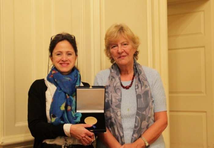 The presentation of the Julia Higgins Medal