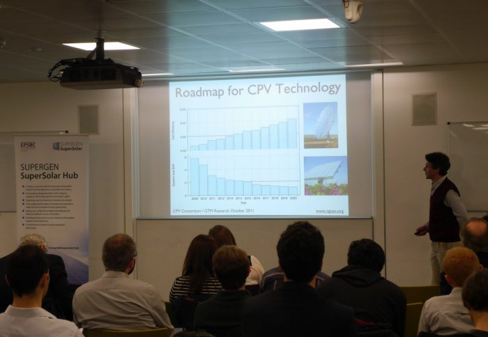 Advances in Concentrator Photovoltaics meeting held at Imperial College