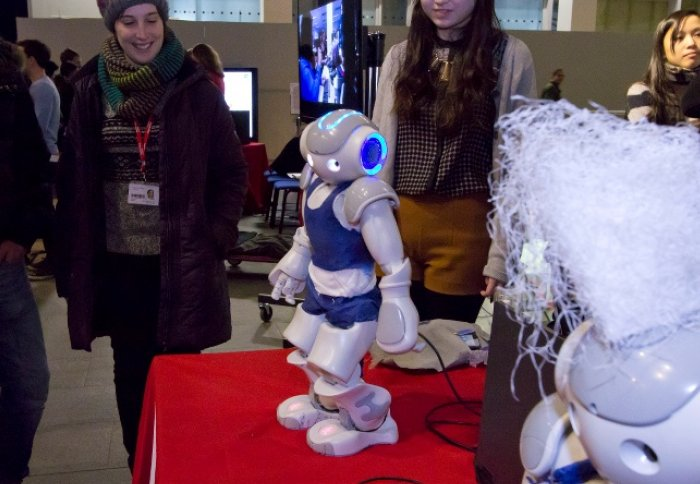 Nao robot at Imperial Fringe  sc 1 st  Imperial College London & I Robot: UKu0027s largest robotics network to be unveiled at Imperial ...