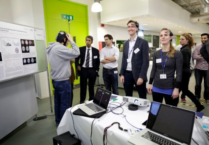 Mind-controlled video game focuses attention at Royal Society Exhibition