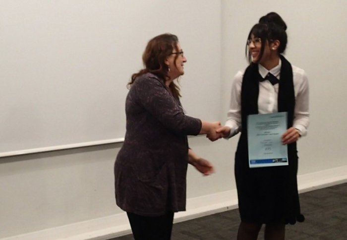 Winner of Poster Competition at CDT conference