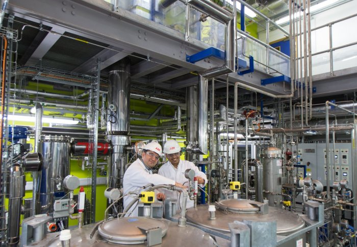 Carbon capture pilot facility at Imperial College London