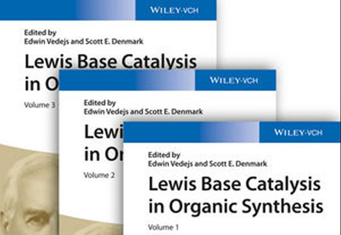 Sept 2016 - Article in Wiley Lewis Base Catalysis in Synthesis Book(s) Published