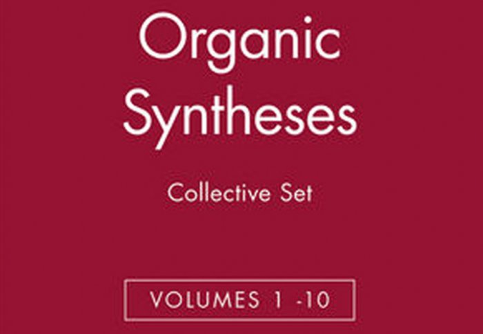 Oct 2016 - Article in Organic Syntheses Published