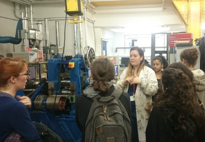French High School visits Imperial College