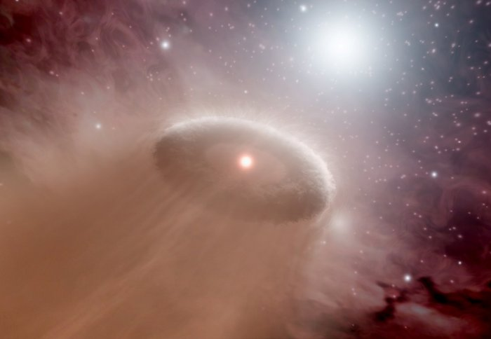 Fledgling stars try to prevent their neighbours from birthing planets