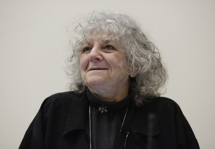 Professor Ada Yonath talking