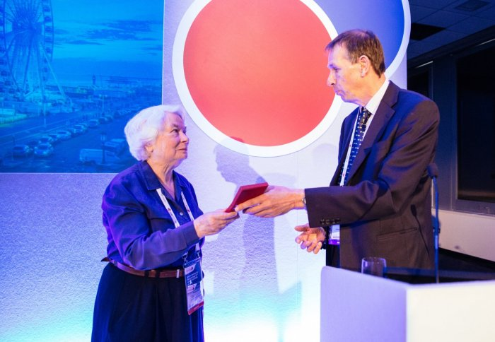 Imperial blood expert recognised for a lifetime of achievement