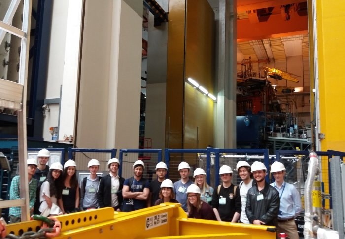 Cohort 8 trip to Culham Centre for Fusion Energy (CCFE)