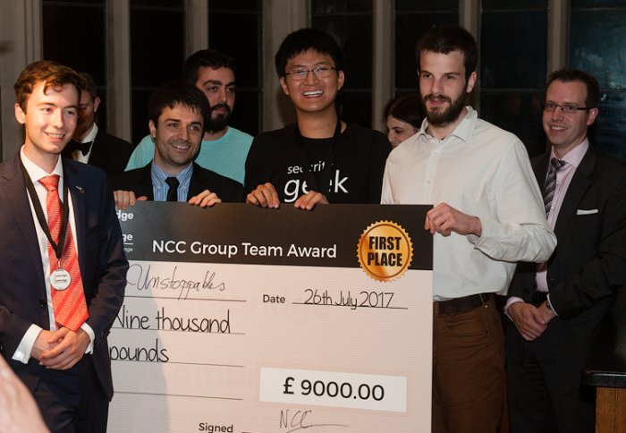 Imperial College students do the double at cybersecurity competitions