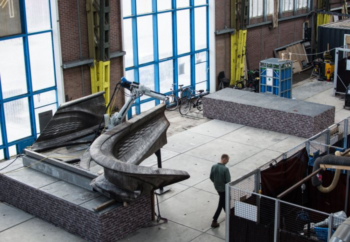 The world's first 3D printed steel bridge will be a 'living laboratory'