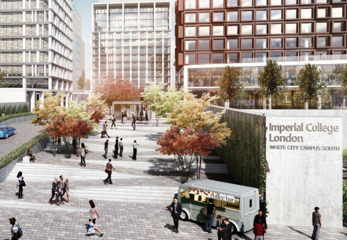 A Cgi Of The New White City Development