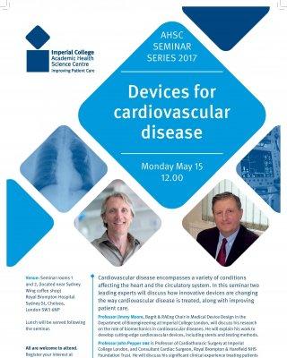 ahsc seminar series 2017 devices for cardiovascular disease