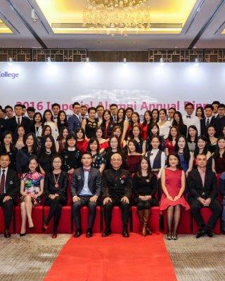 Annual alumni dinner in Shanghai