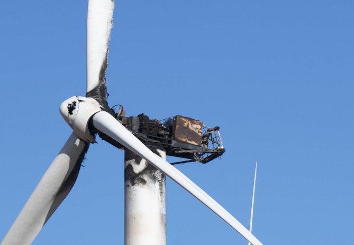 Fires Are Major Cause Of Wind Farm Failure According To